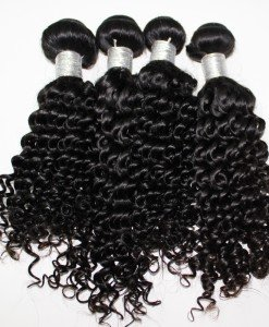 Cambodian Kinky Curly Hair Extensions
