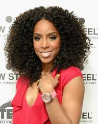 Kelly Rowland Kinky Curly Hair Extensions