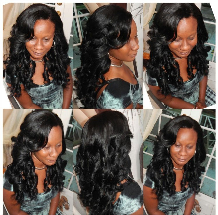Mongolian- Spring-Curl- Hair-collage