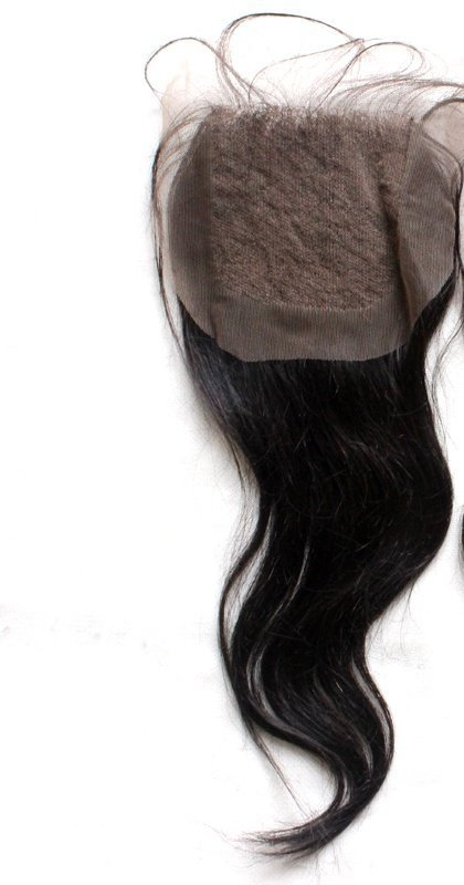 Natural Straight Closure lace1
