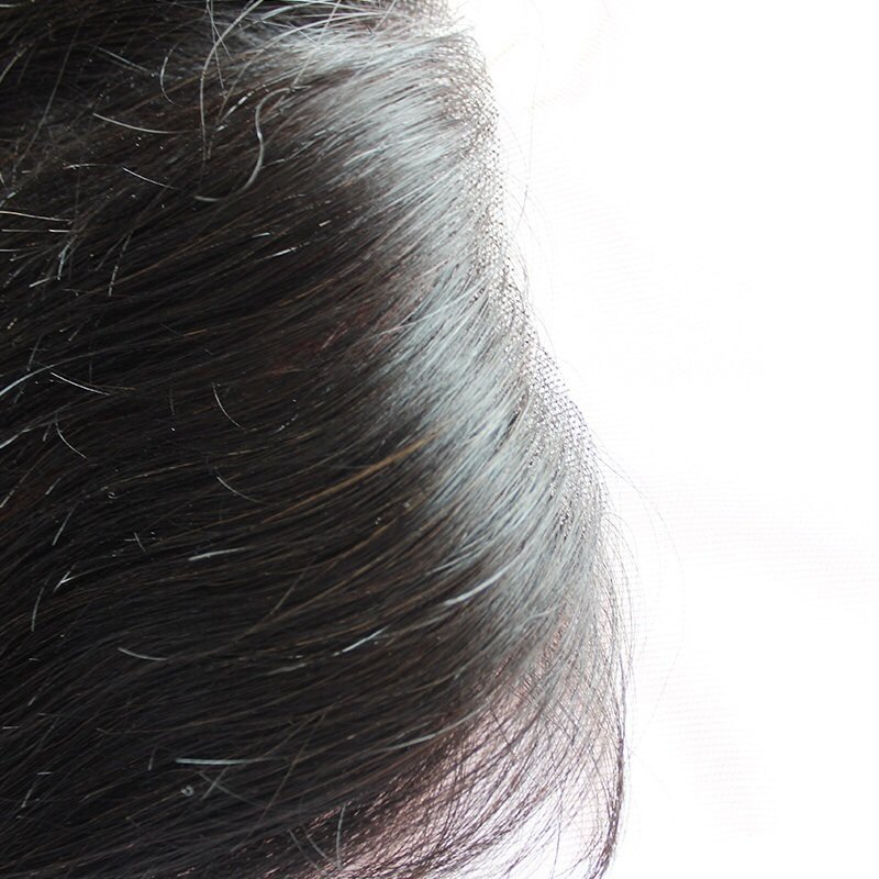 Straight Lace Frontal Closure Close Up