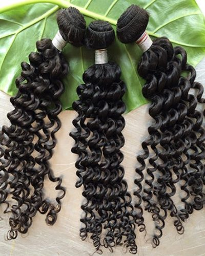 Indian Deep Curly Human Hair Bundles