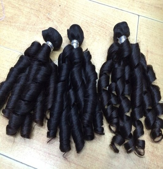 Burmese-Spring-Curl-Hair