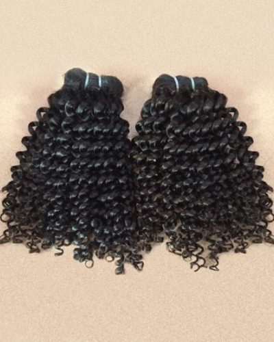 Cambodian Kinky Curly Hair