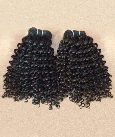 Eurasian Kinky Curly Hair