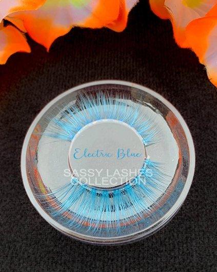 Neon Blue Lashes