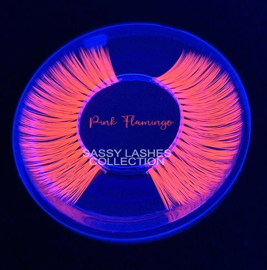 Neon Pink Lashes