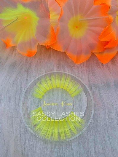 Neon Yellow Lashes