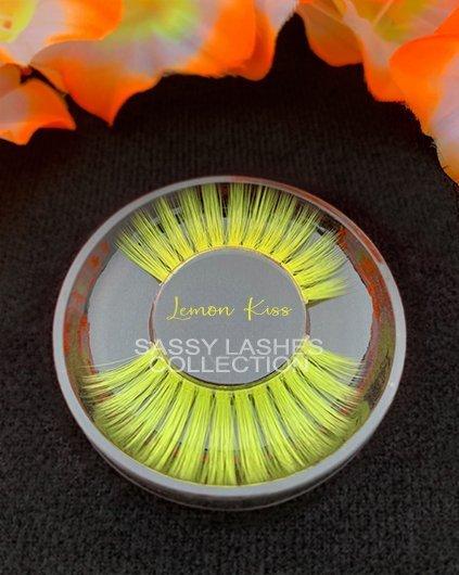 Yellow Lashes